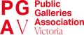 Public Galleries Association Victoria logo